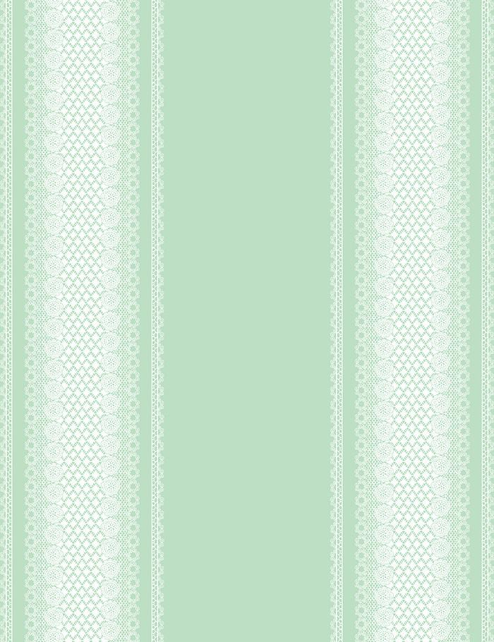 Lace Front Green  Wallpaper