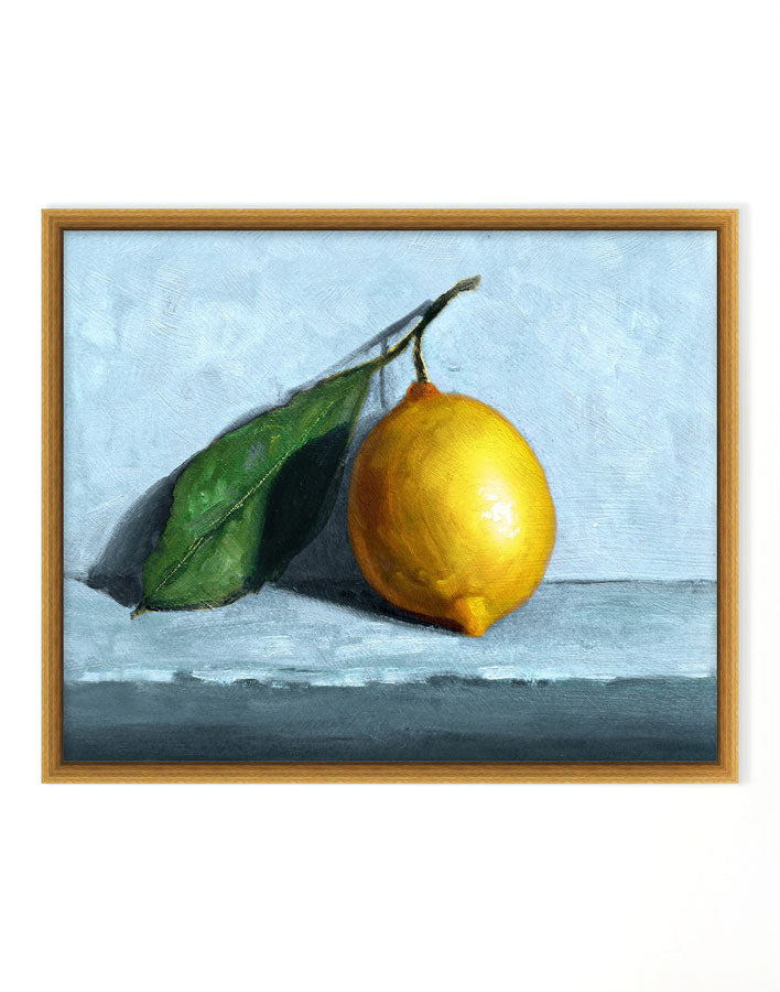 Lemon Still Life by Nathan Turner
