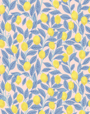 Lemons Pink Lemonade  Wallpaper
