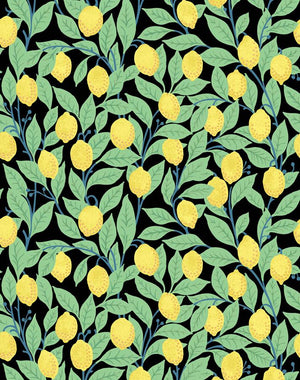 Lemons Onyx  Wallpaper