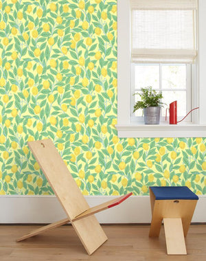 Lemons Yellow  Wallpaper