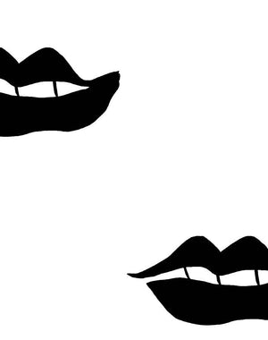 Lips Onyx  Wallpaper