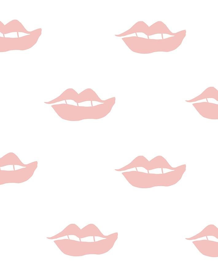 Lips Pink  Wallpaper