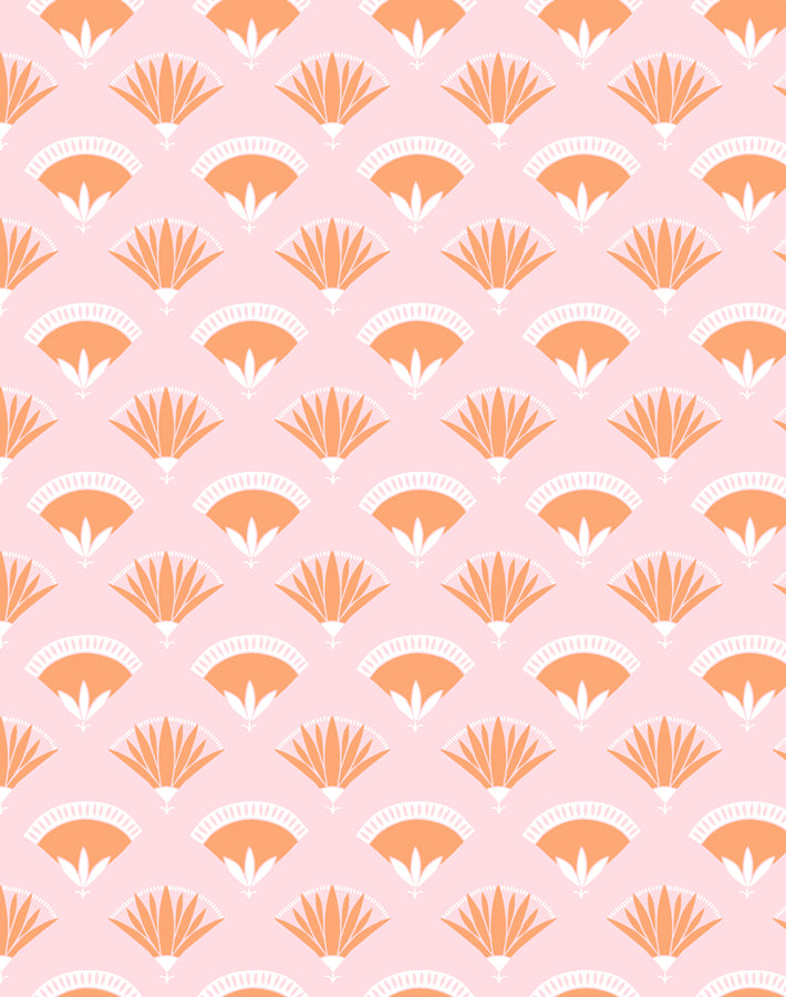 Lotus Papyrus Creamsicle  Wallpaper