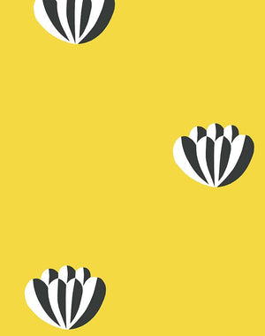 Lotus Yellow  Wallpaper