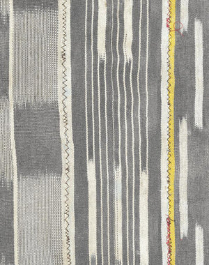 Madison Stripe Faded Black  Wallpaper