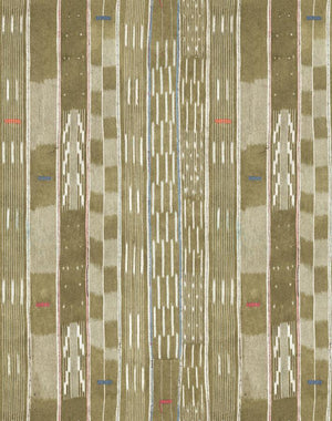Madison Stripe Tan  Wallpaper