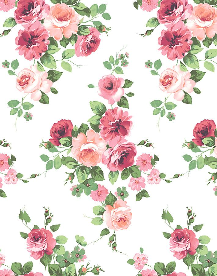 Maggie May Pink  Wallpaper