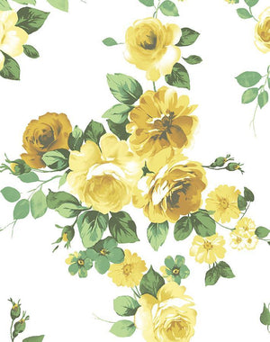 Maggie May Yellow  Wallpaper