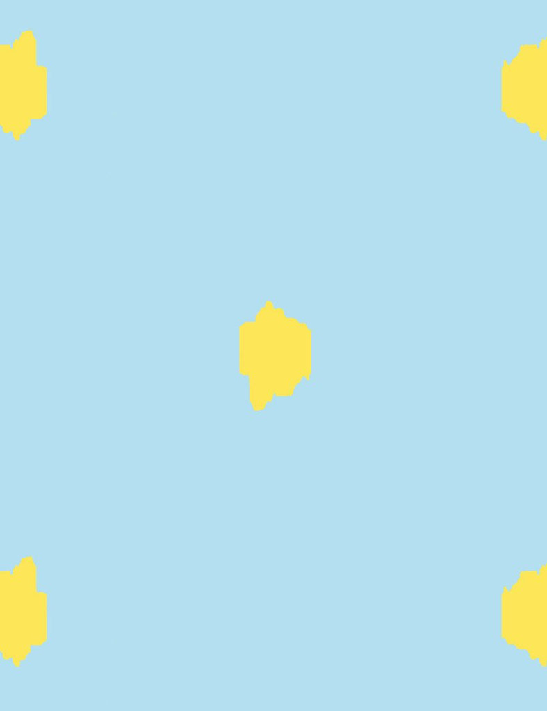 Medina Dot Wallpaper - Baby Blue