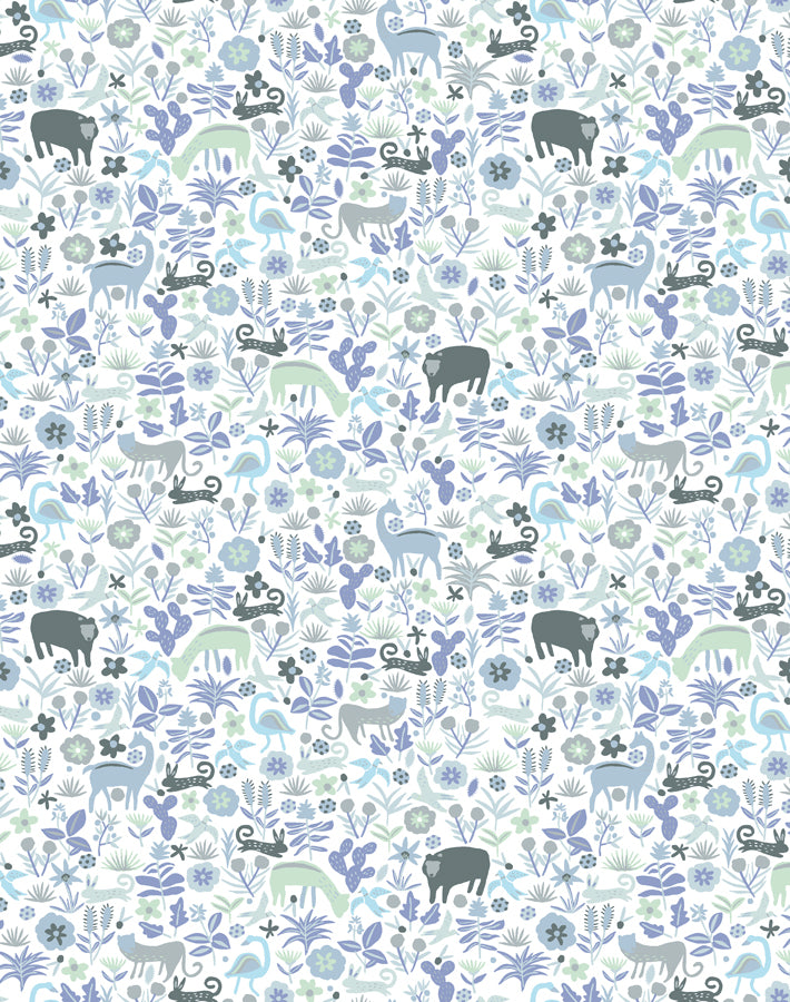 Menagerie Gray  Wallpaper