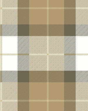 Oban Plaid Leather  Wallpaper