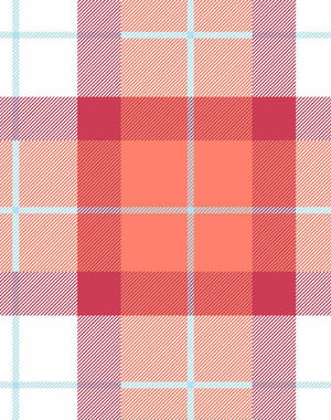 Oban Plaid Raspberry  Wallpaper