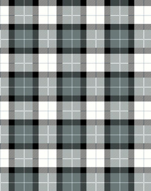 Oban Plaid Onyx  Wallpaper