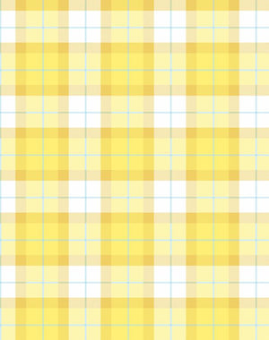 Oban Plaid Yellow  Wallpaper