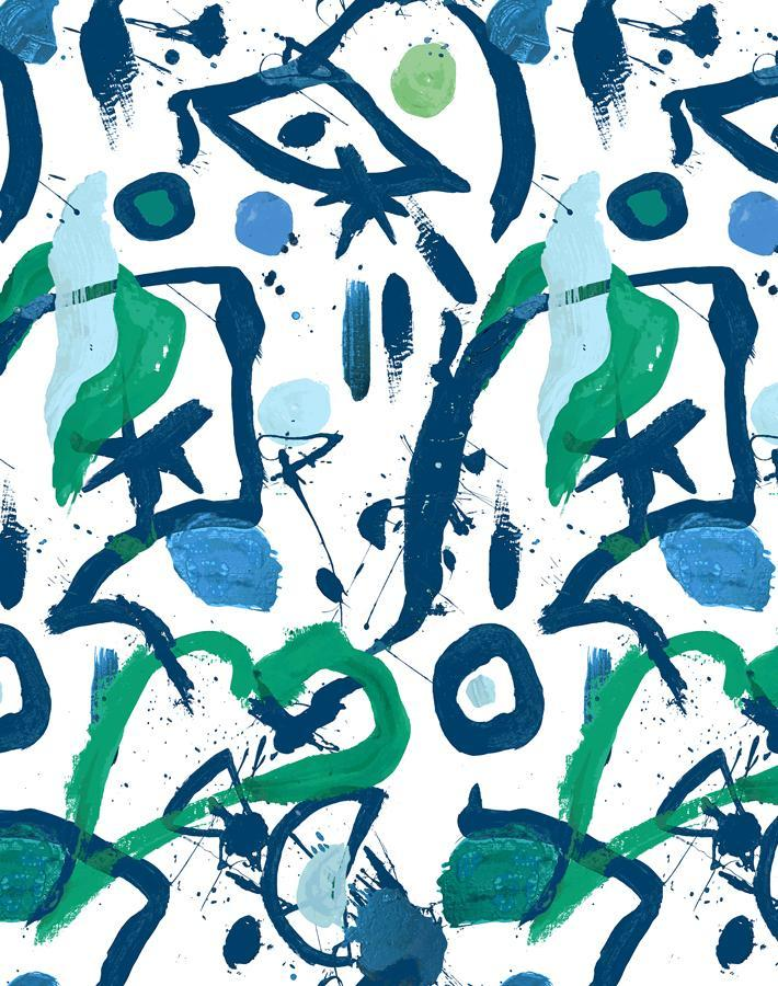 El Quijote Multi Blue Green  Wallpaper