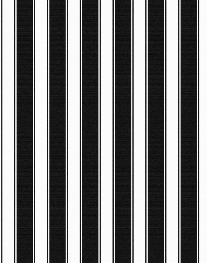 Wallshøppe Ojai Stripe Wallpaper - Black