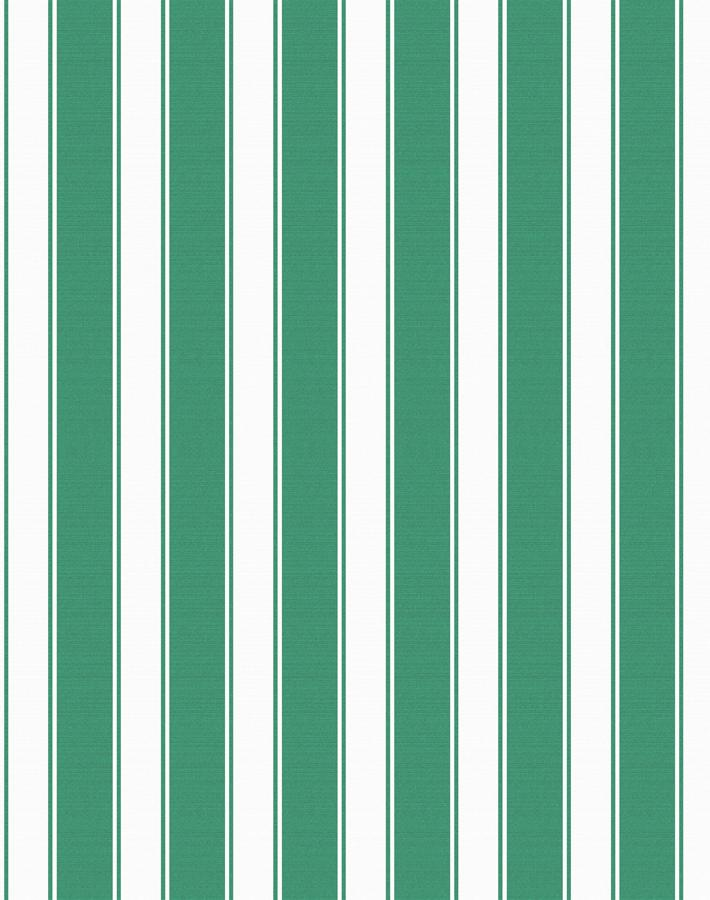 Wallshøppe Ojai Stripe Wallpaper - Green