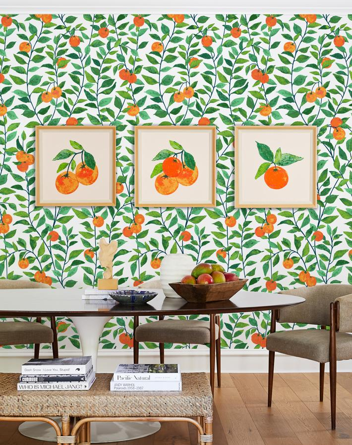 Artshoppe Ojai Valley Oranges by Nathan Turner
