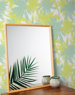 Artshoppe Palm Leaf Mirror