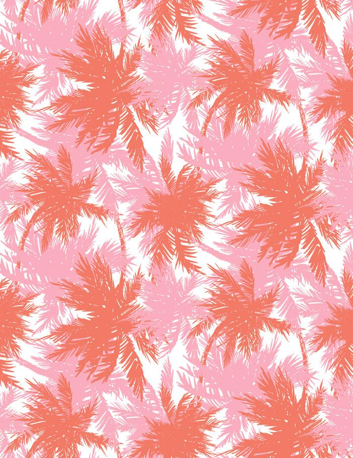 Palm Shuffle Watermelon Bubble Gum  Wallpaper
