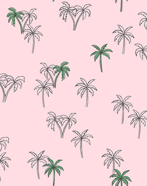 Palms Ballet Slipper  Wallpaper