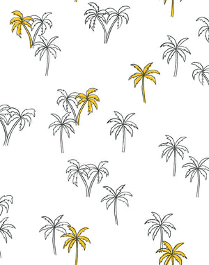 Palms Marigold  Wallpaper