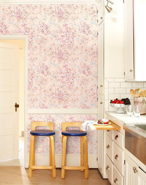 Parsons Paint Pink Blue  Wallpaper