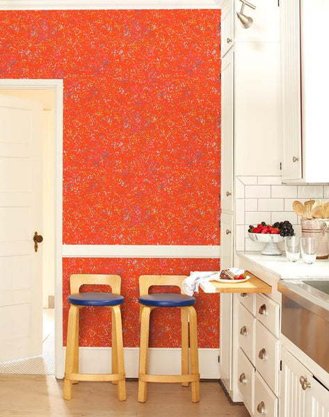 Parsons Paint Red Wallpaper