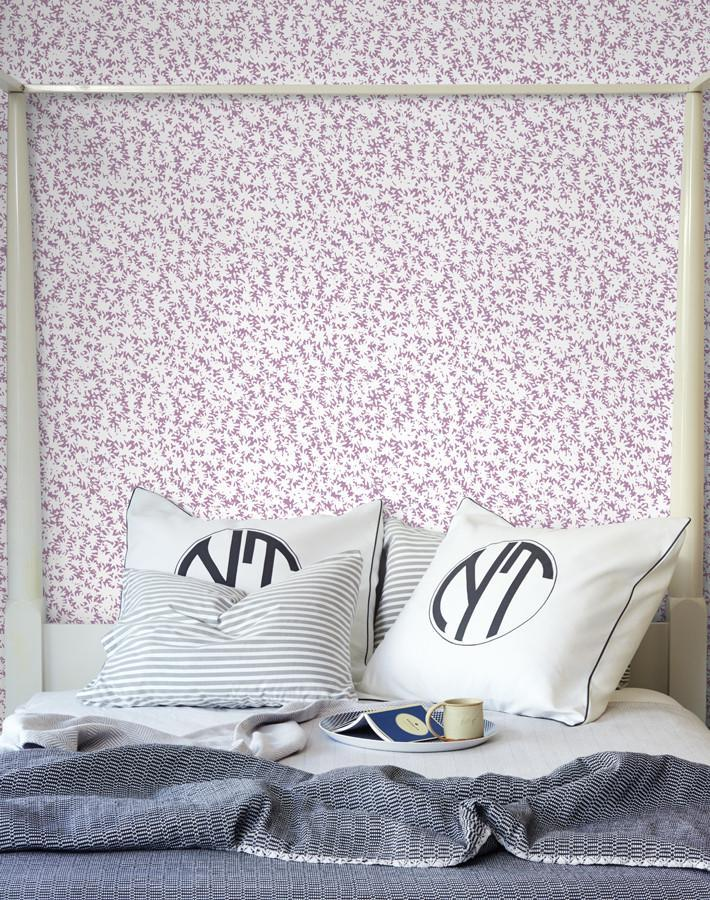 Peggy Sue Lilac  Wallpaper