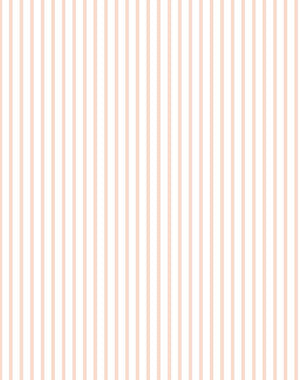 Pinstripe By Sugar Paper / Pink / Wallshoppe  Wallpaper