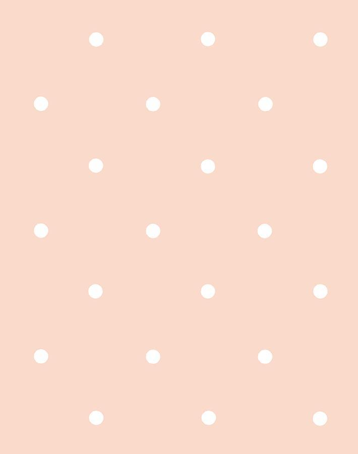 Polka Dot Pink Wallpaper