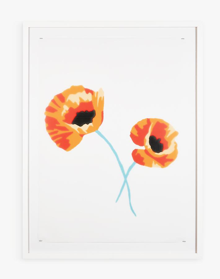 Artshoppe Poppy Flowers by Nathan Turner