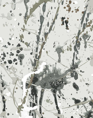 Pratt Paint Wallpaper Roll - Silver [SALE]