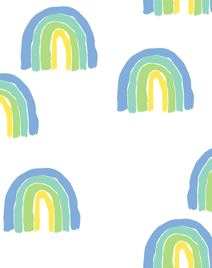 Rainbows Green  Wallpaper