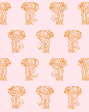 Raja The Elephant Removable Panel - Pink [SALE]