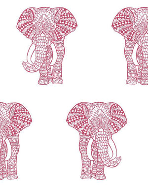 Raja The Elephant Rose  Wallpaper