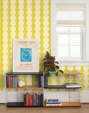 Sailor Knot Yellow  Wallpaper