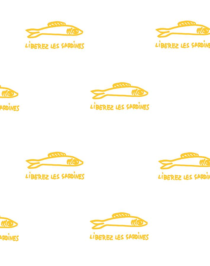 Sardines Marigold  Wallpaper