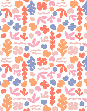 Sea Garden Small Coral And Pink  Wallpaper
