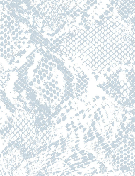 Serpentine - cement on white wallpaper roll - Wallshoppe