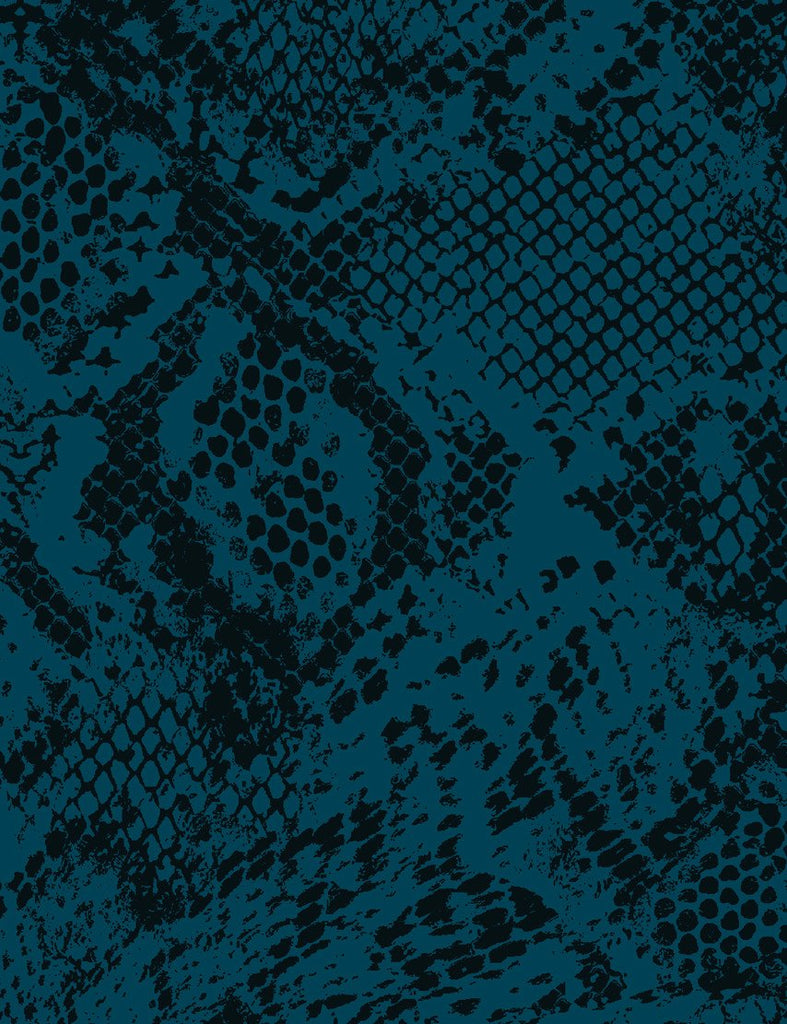 Serpentine Wallpaper - Indigo - Wallshoppe