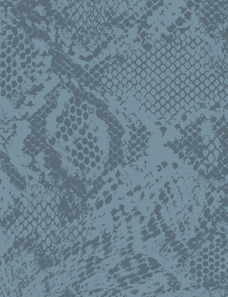 Serpentine - dior gray / whale wallpaper roll - Wallshoppe