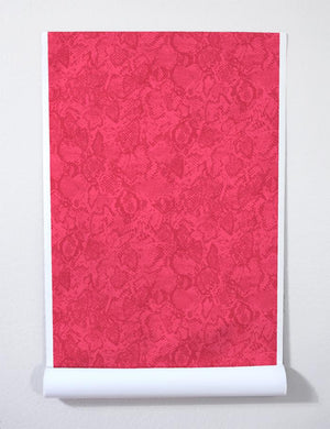 Serpentine Raspberry Hot Pink  Wallpaper