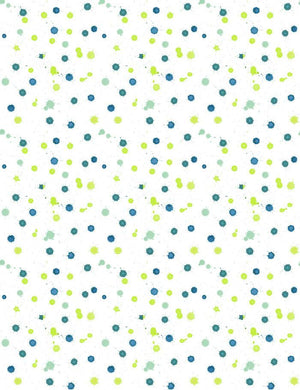 Splattered Blue Citrine  Wallpaper