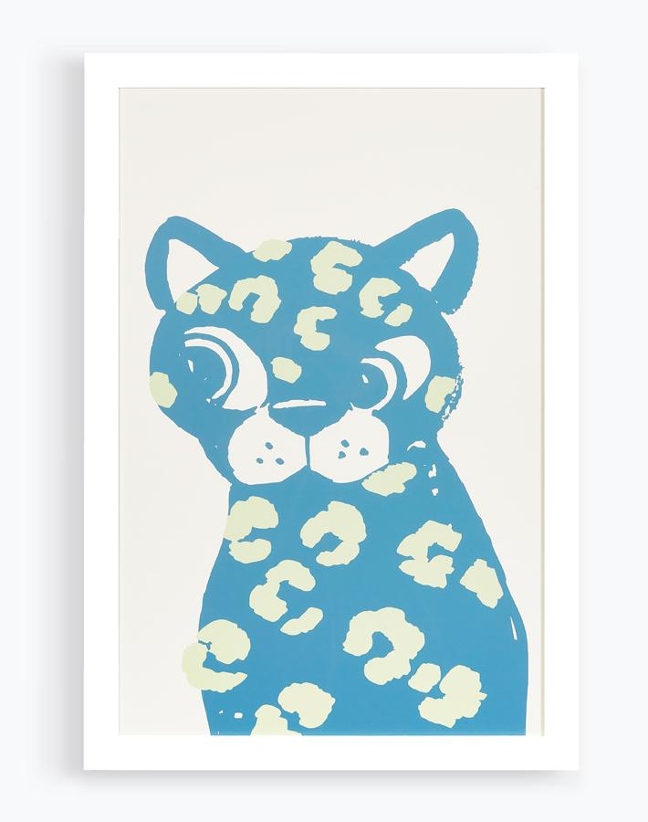 Artshoppe Spotted Cat by Tea Collection