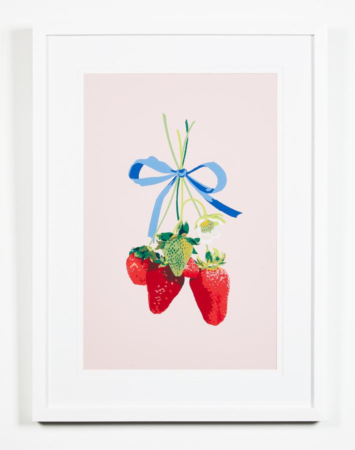 Artshoppe Strawberry is My Jam by Nathan Turner