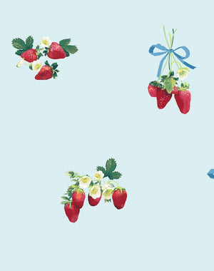 Strawberry Is My Jam Sky  Wallpaper
