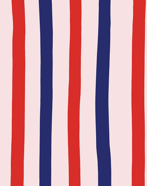 Stripes Red Shell  Wallpaper