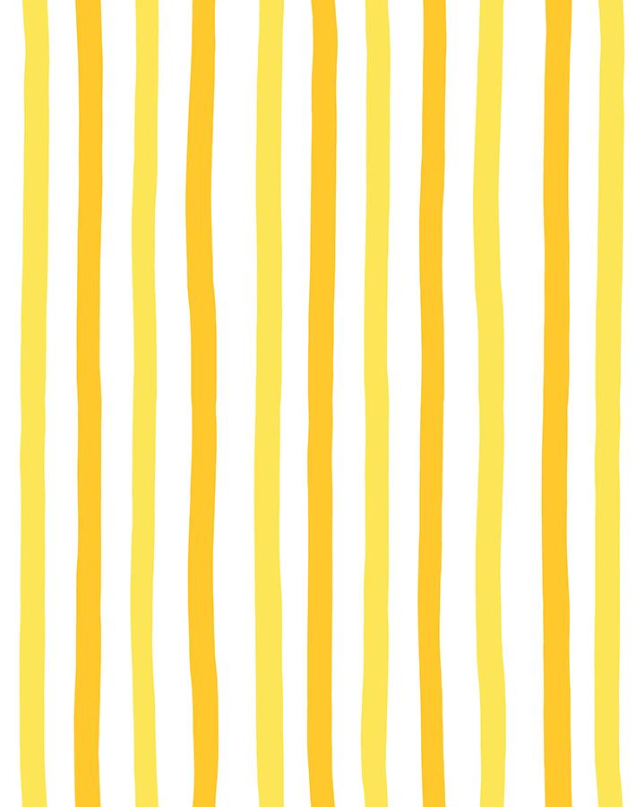 Stripes Yellow  Wallpaper